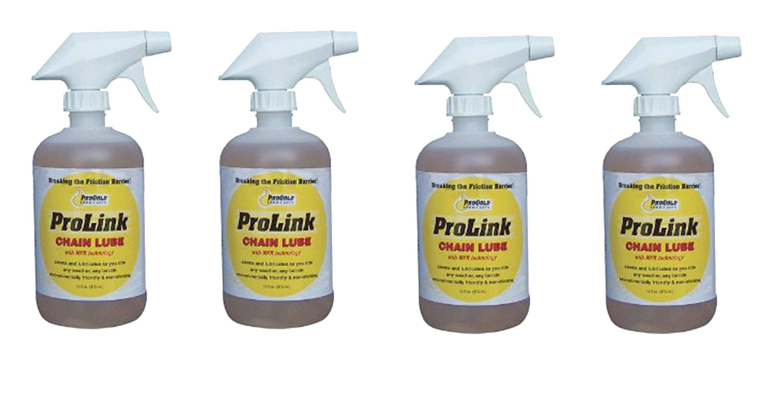 ProGold Prolink 16-Ounce Spray Chain Lube (4 Pack)