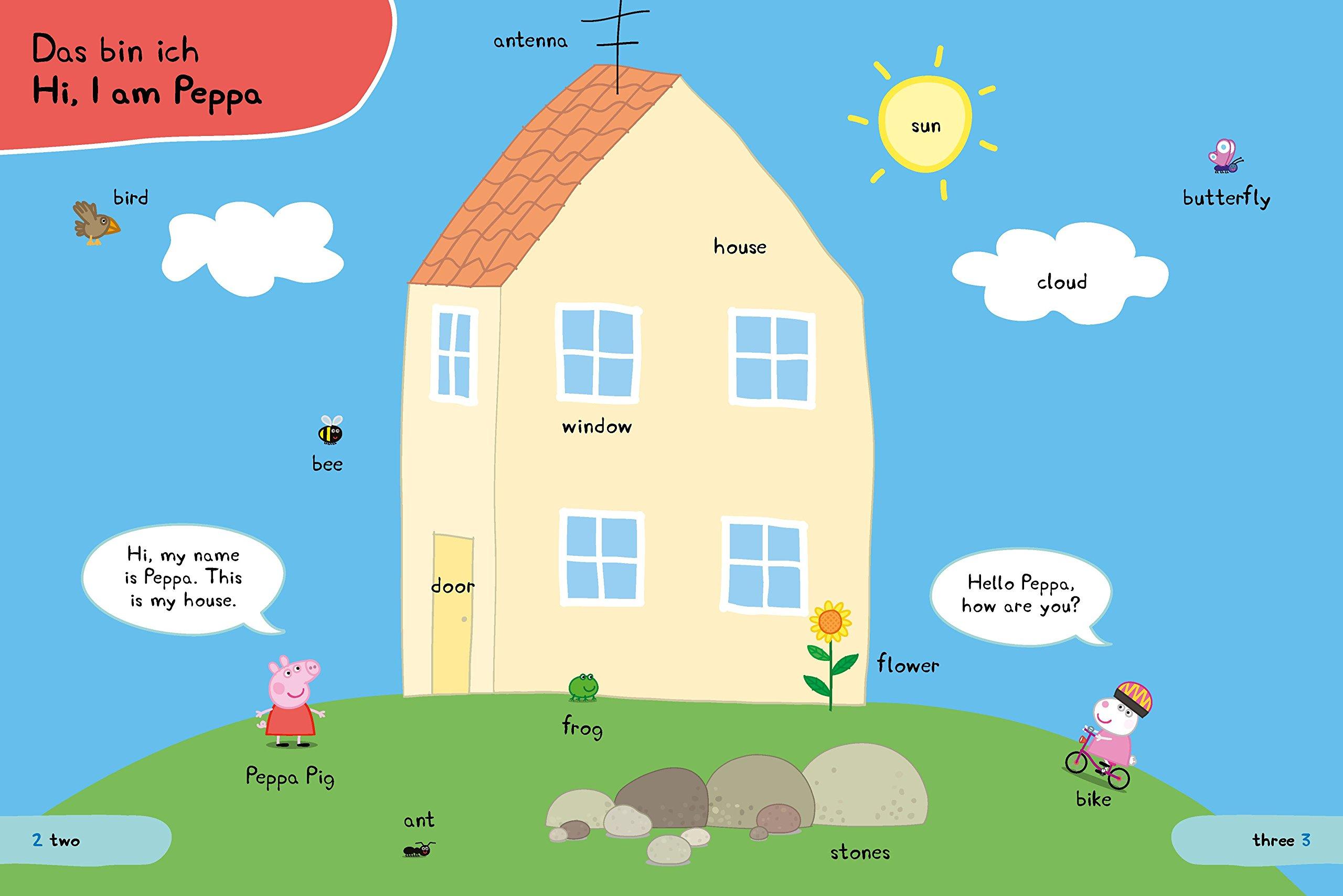 Peppa Pig Englisch Mit Peppa 250 Erste Wörter Und Sätze Amazon