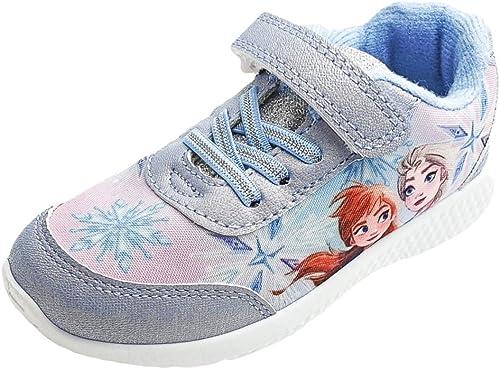 Disney Frozen Girls Trainers in Blue