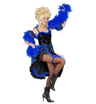 Bailarina Can Can traje azul y negro: Amazon.es: Deportes y ...