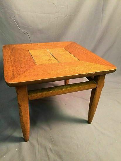 Tremendous Amazon Com Lane Solid Wood Side Table Vintage Model 083 Beatyapartments Chair Design Images Beatyapartmentscom