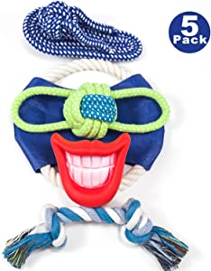 Puppy Pet Dog Rope Toys for Aggressive Chewers