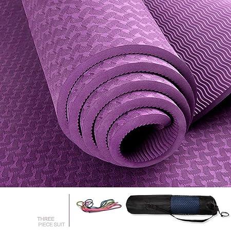 OIBHFO Home Colchonetas de Yoga, 183 * 66 cm alargadas ...