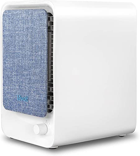 LEVOIT HEPA Air Purifier for Home, Bedroom Air Filter for Allergies and Pets, Desktop Small Air Cleaner for Pollen,Dust,Mold,Quiet Smoke and Odor Eliminator, LV-H126 Available for California