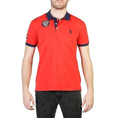U.S.POLO ASSN. U.S. Polo Polo 50024_41029 Hombre Color: Rojo Talla ...