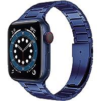 Miimall Jedyny w swoim rodzaju niebieski Premium stal szlachetna metal zapasowy pasek iWatch pasek do zegarka Apple…