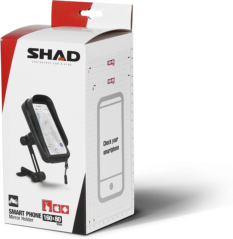 Shad X0SG61M Smartphone Holder, Negro, 6,0
