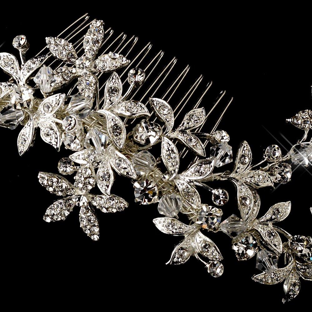 Marietta Swarovski Crystal Wedding Bridal Hair Comb by Fairytale Bridal Tiara (Image #2)