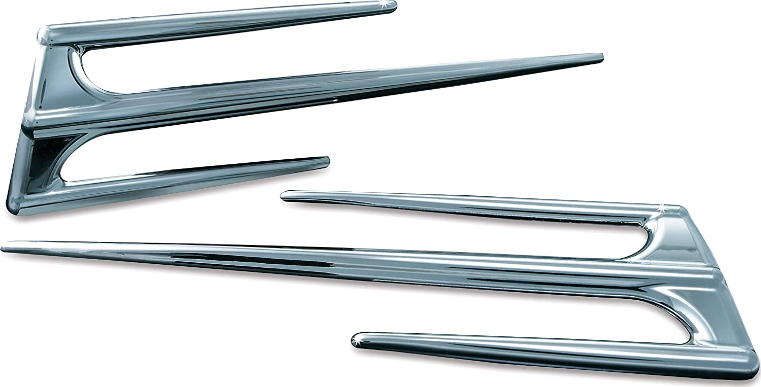 Gas Tank Door Trim for 2001-10 Honda Gold Wing GL1800 Motorcycles Chrome Kuryakyn 3738 Motorcycle Accent Accessory Pack of 1