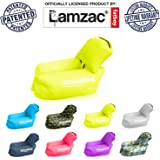 SmoothBag Portable Inflatable Lounger Chair with Pillow | Premium Banana Hammock Couch for camping, hiking, festivals, pool, outdoor lounging | Durable Air Chair Lounging Sofa