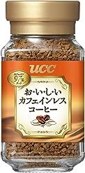 UCC おいしいカフェインレスコーヒー インスタントコーヒー 45g