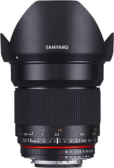 Samyang 16 2 0 Objektiv Dslr Canon Ef Manueller Fokus Kamera