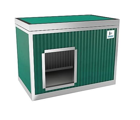 TRDC Caseta Aislante para Perro Standard para el Exterior (Smeraldo)