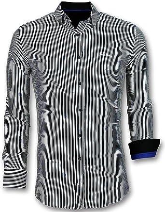 Comprar Camisas Hombre Online - Camisa a Rayas - 3026 ...