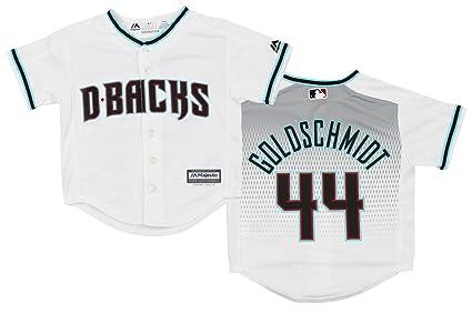 a8906c9b7f3 Image Unavailable. Image not available for. Color  Arizona Diamondbacks  Paul Goldschmidt  44 MLB Little Boys Replica Jersey