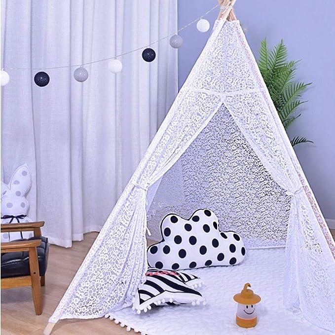 Juguete tienda canadiense infantil salas de fiesta y días festivos Carpa decoración de encaje de los indios norteamericanos for Bebés y Niños en interiores y exteriores Jugando tamaño ideal En interio: Amazon.es: