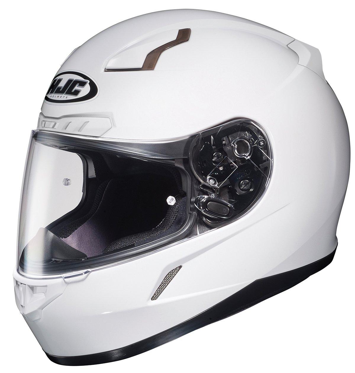 HJC 824-578 CL-17 Full-Face Motorcycle Helmet Silver, 4X-Large