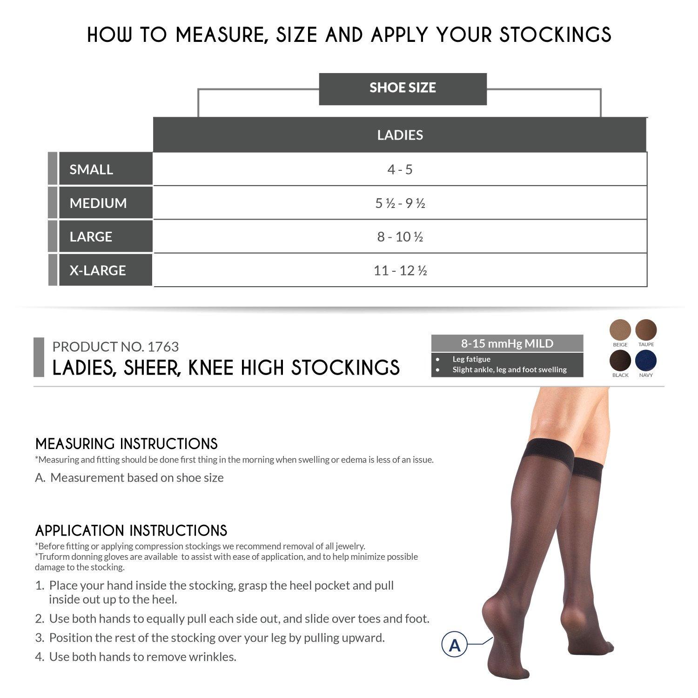 388bae61ab4 Amazon.com  Truform Compression Stockings