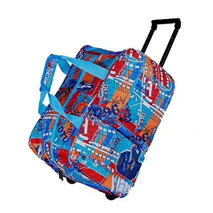 73783f6f5e57 Amazon.com: YANJINGHONG Luggage Rolling Trolley Bag Hand Luggage Bag ...