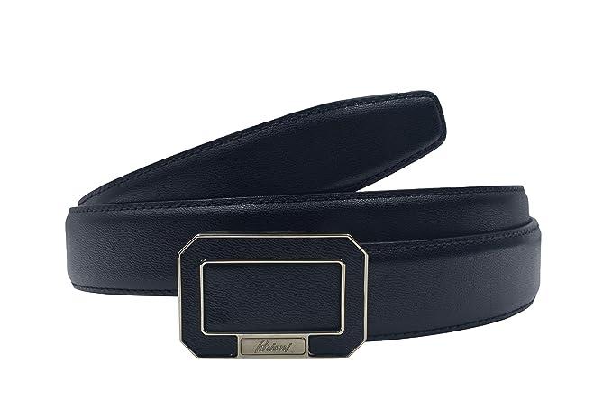 Amazon.com: Brioni - Cinturón con hebilla de piel negra para ...
