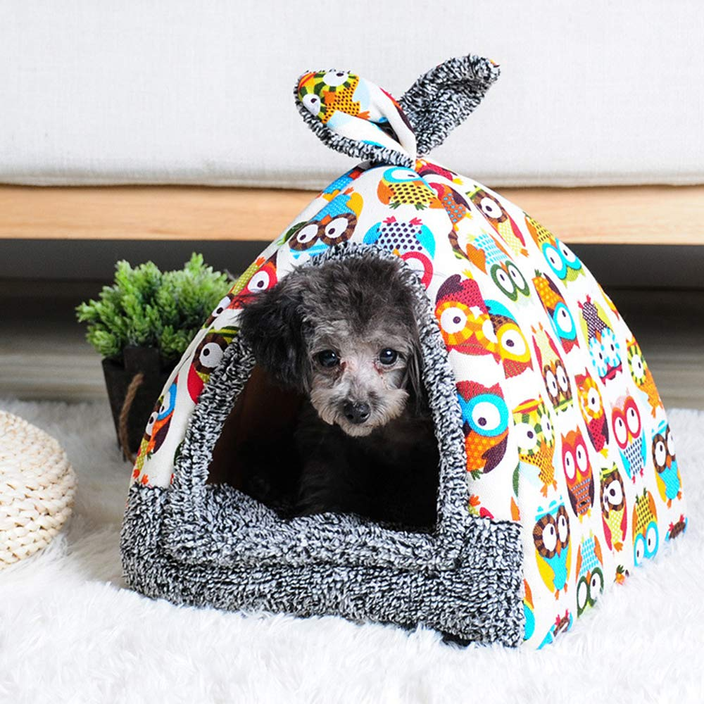 Spring Fever Rabbit Dog Cat Pet Bed Small Big Animal Puppy Supplies Indoor Water Resistant Beds
