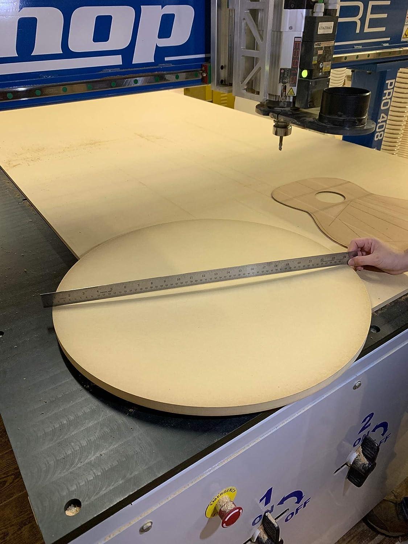 28 Foot Radius Dish or Disc for Guitar Building