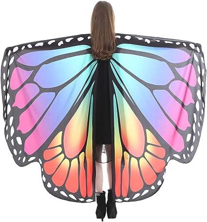 Disfraz de mariposa para adultos, para fiestas, Halloween, Navidad ...