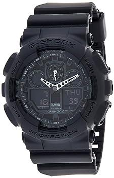 G-Shock Combination Military Watch-Matte Black