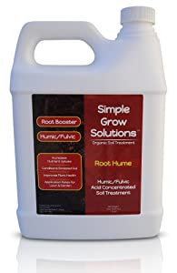 Simple Grow Solutions Humic Fulvic Acid Concentrated Soil Treatment