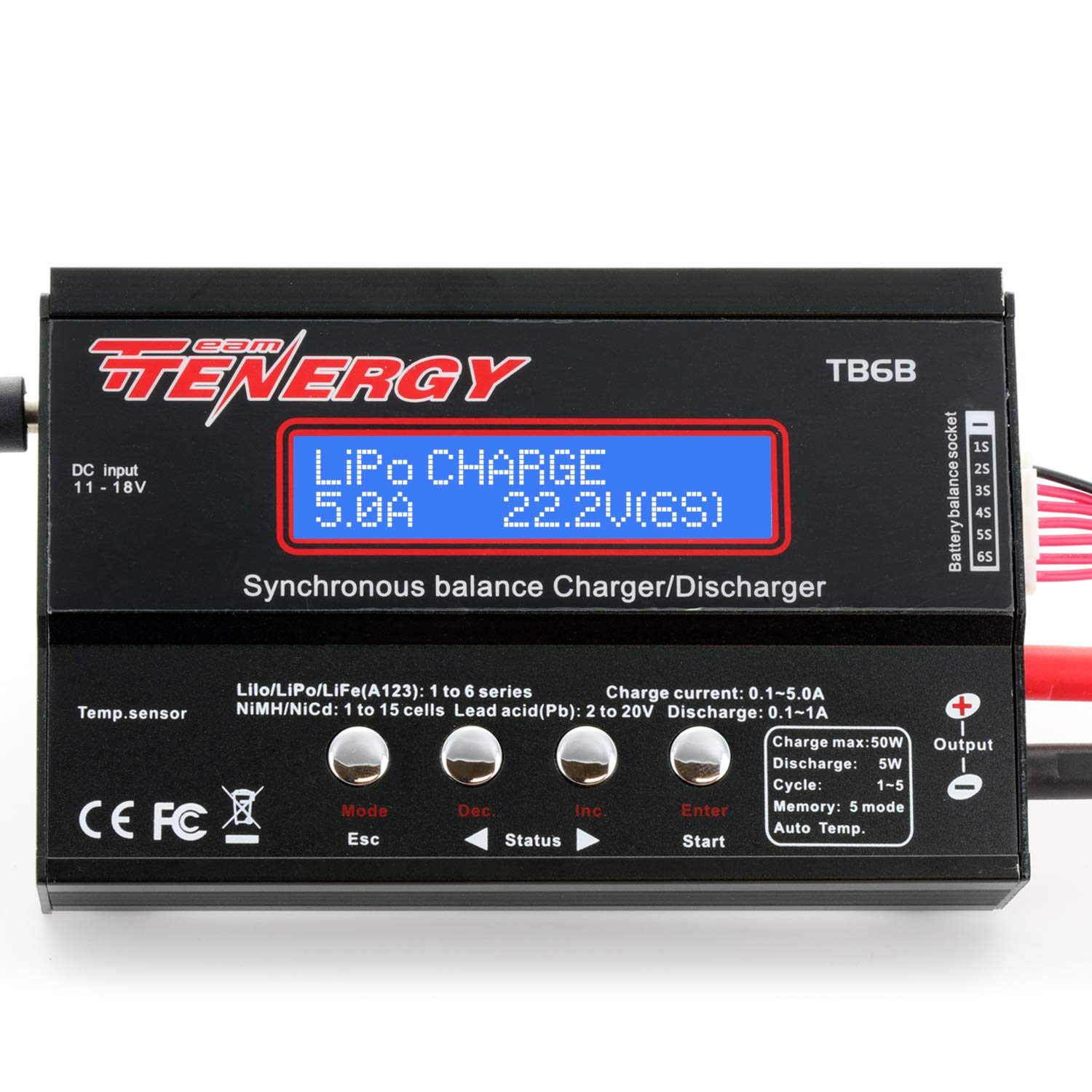 Tenergy TB6-B Balance Charger Discharger