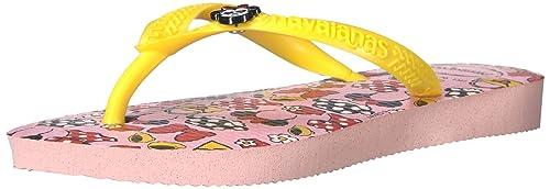 fbf56c6a4 Havaianas Girls  KIDS SLIM DISNEY COOL SANDAL PEARL PINK Flip Flop