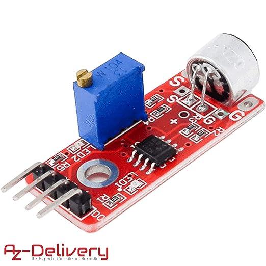 AZDelivery KY-037 Micrófono detección de sonido de alta ...