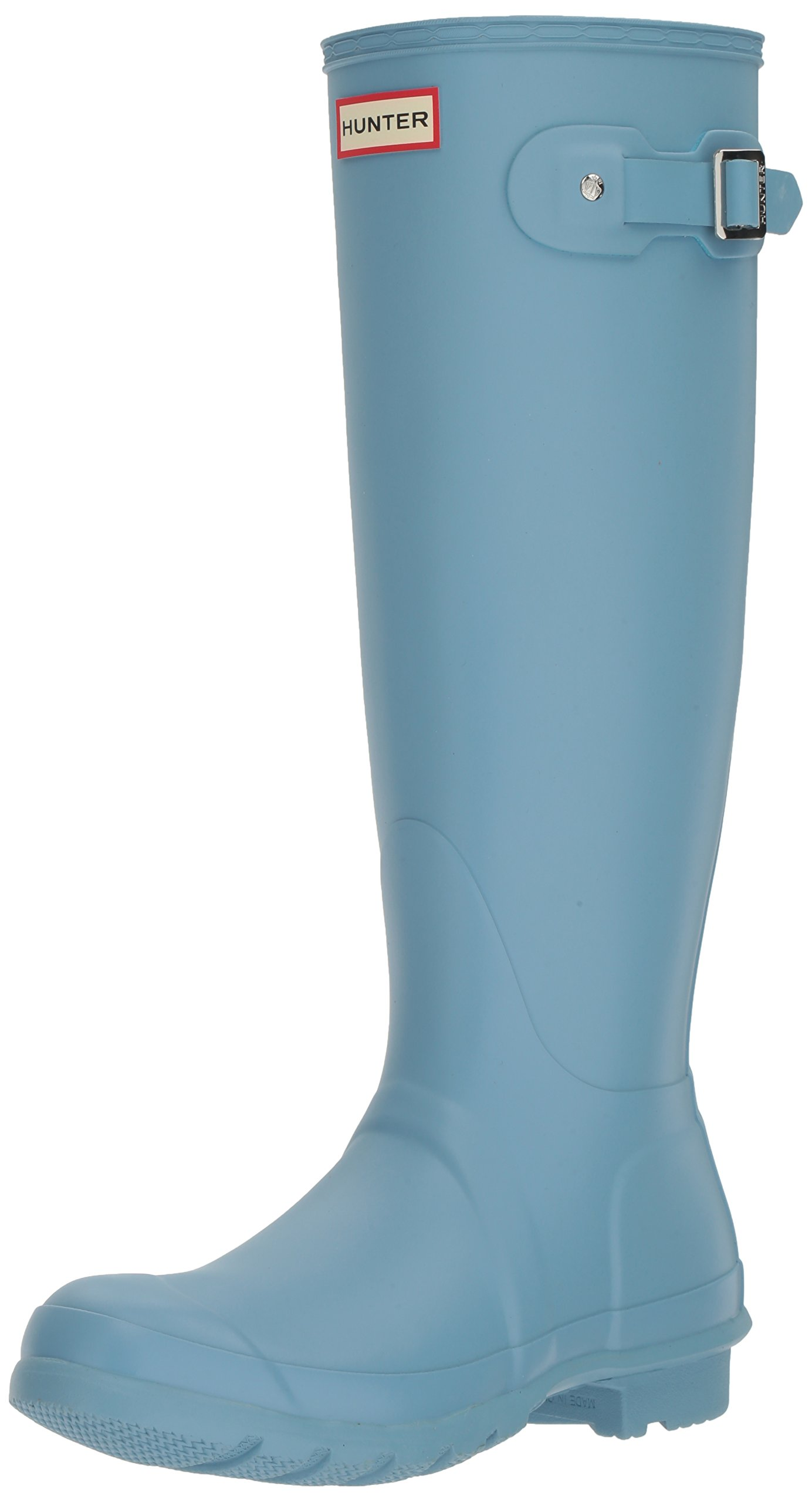 Hunter Women's Original Tall Wellington Boots, Blue - 9 B(M) US by Hunter