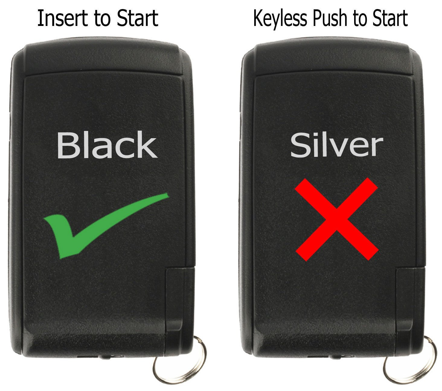KeylessOption Keyless Entry Remote Control Car Key Fob Replacement for Prius MOZB21TG Pack of 2