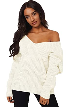 a6b03e3c19ebea The Fashion Bible Amelia Cream Twist Front Jumper 6-8  Amazon.co.uk ...