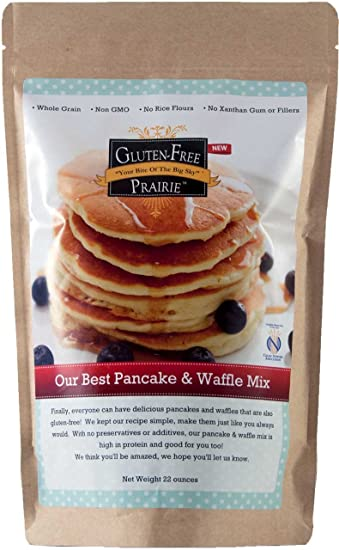 Amazon gluten free prairie our best pancake waffle mix 22 gluten free prairie our best pancake waffle mix 22 ounces certified gluten free ccuart Image collections