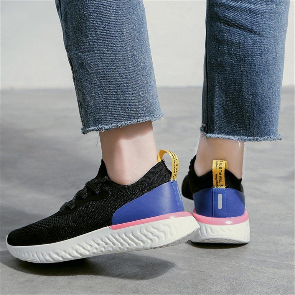 Scarpe da Donna Knit Knit Knit Spring Fall Fashion scarpe da ginnastica, Traspirante Knit Little bianca scarpe, Academy Ladies scarpe 55e51e