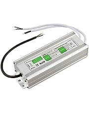 Henxlco AC 110V-260V to DC 12V Outdoor Waterproof IP67 Transformer Power Supply Driver Adapter CCTV Camera Security System LED Strip Light (120w)