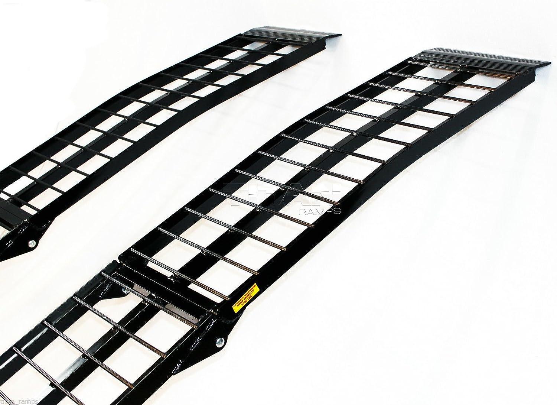 Titan Ramps 10 ft HD Aluminum UTV Wide Loading Ramps Ranger Rhino Gator ATV