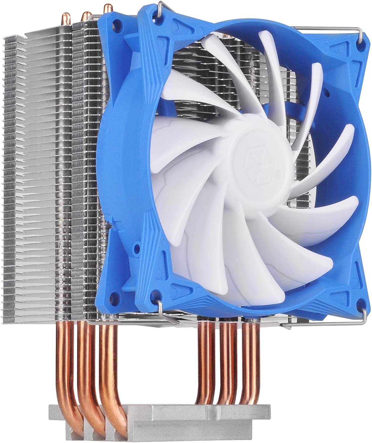 SilverStone Technology Argon Series CPU Cooler with 92mm Cooling Fan for Socket for Intel/AMD Socket AR08