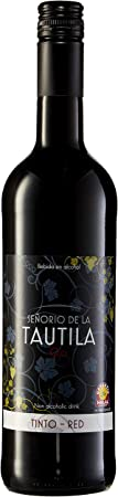 Señorío de la Tautila Vino Tinto - Paquete de 6 x 750 ml - Total: 4500 ml