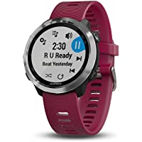Garmin 010-01863-21 Reloj Inteligente Forerunner 645 Music, color Cereza