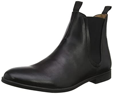 77c37a0e1eed7 Amazon.com: Hudson Atherstone Mens Black Calf Boots: Shoes