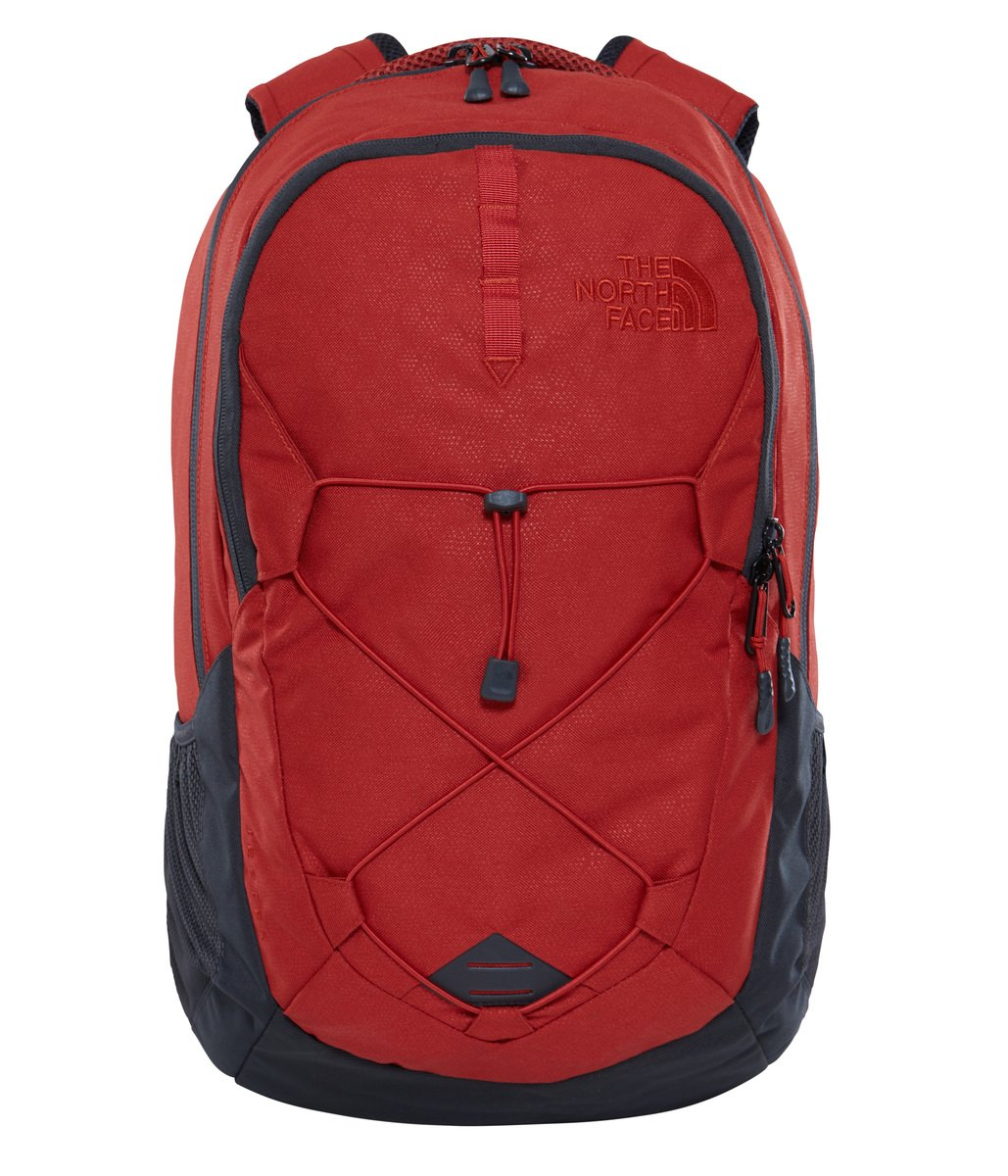 The North Face Unisex Jester Ketchup Red Emboss/Asphalt Grey One Size