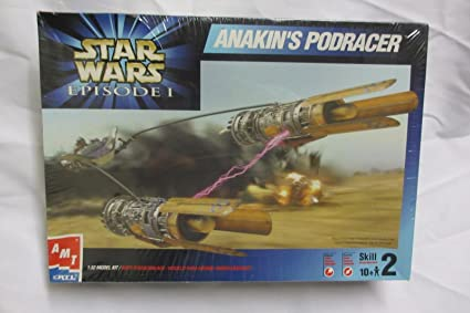 1999 AMT//ERTL ERTL 30122 Star Wars Episode 1 ANAKINS PODRACER 1//32 Scale Model Kit AMT