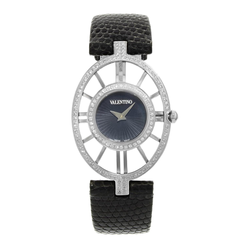 Valentino Vanity Edelstahl & Diamant Damen Fashion Armbanduhr v42sbq9109-s009