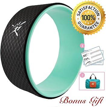 Amazon.com: Rueda de yoga: rueda de yoga Dharma más fuerte y ...