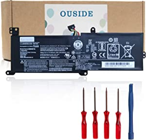 OUSIDE L16M2PB2 L16C2PB2 L16M2PB1 New Laptop Battery Replacement for Lenovo IdeaPad 320-14AST 320-14IAP 320-15ABR 320-15AST 320-15IAP Series L16L2PB2 L16L2PB1 L16S2PB1 L16C2PB1[7.5V 35Wh]