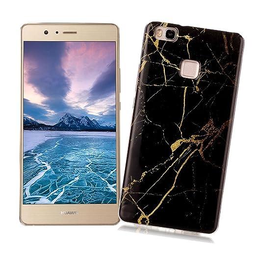 15 opinioni per Cover Huawei P9 LITE con Disegno di Marmo XiaoXiMi Custodia in TPU Silicone Soft