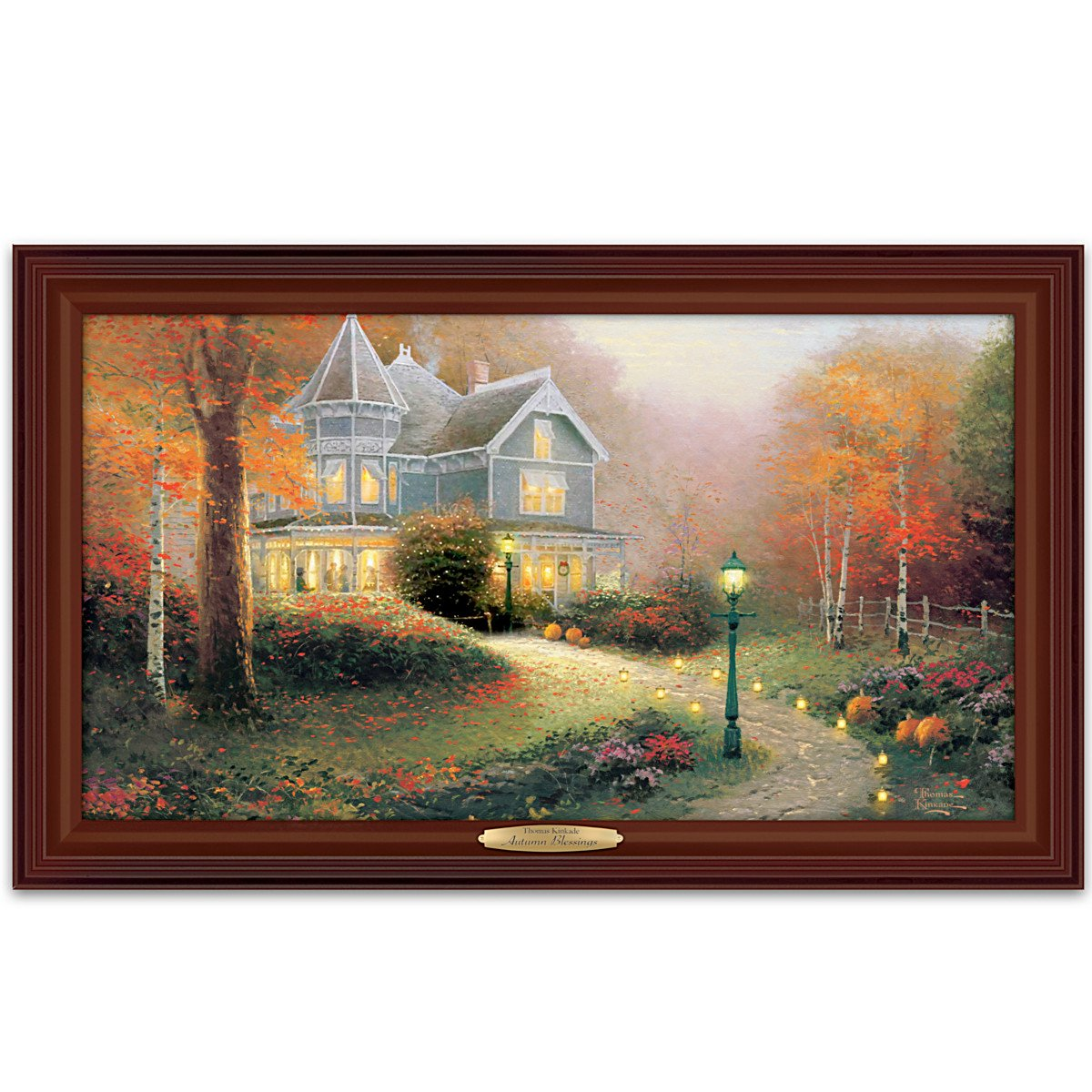 Nice Thomas Kinkade Picture Frames Ornament Picture